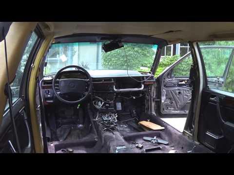 Mercedes W124 wagon complete interior change.