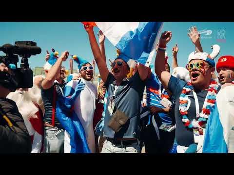 Болельщики Франции и Австралии прибыли на ЧМ по футболу 2018 в Казань