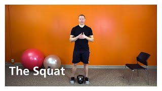 The Squat - An exercise to build leg muscles