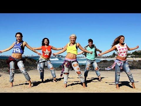 'Happy' Pharrell Williams choreography by Jasmine Meakin (Mega Jam)