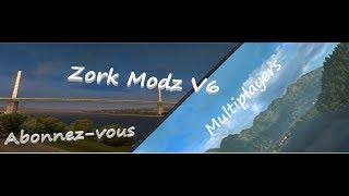 Euro truck simulator 2 [multiplayer] ✘ Zork MoDz V6 ◄ [FR]