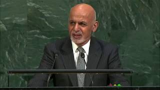 President Ashraf Ghani's speech to the 72nd UN General Assembly in New York on Tuesday (English)