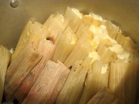 Receta de masa para tamales comida mexicana Parte 4/6