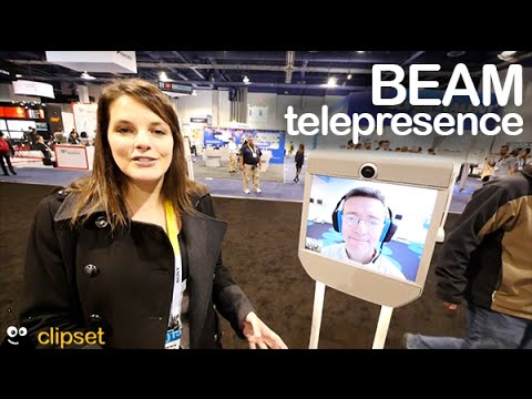 Beam Telepresence preview CES
