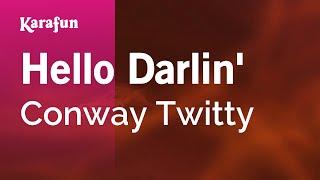 download lagu Karaoke Hello Darlin' - Conway Twitty * gratis