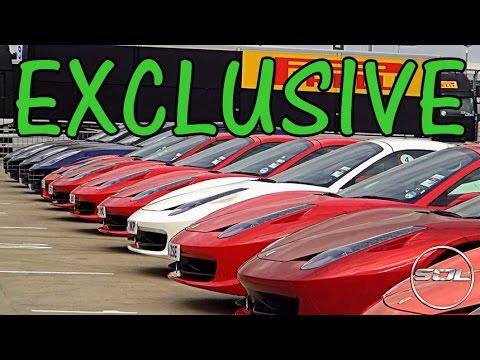EXCLUSIVE FERRARI RACING Vlog: FXX, 599XX, F1!!