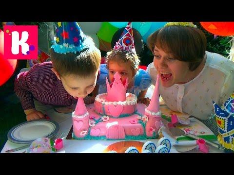 2 000 000 подписчиков подарки для детского дома и Катя принцесса Золушка на карете с шариками