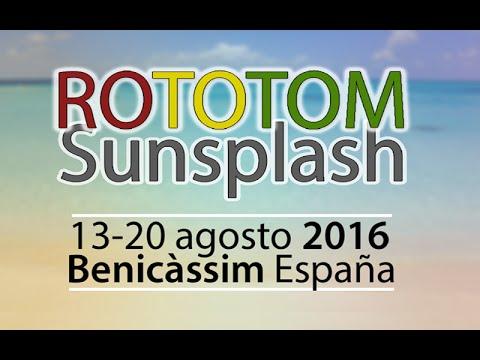 Rototom Sunsplash 2016