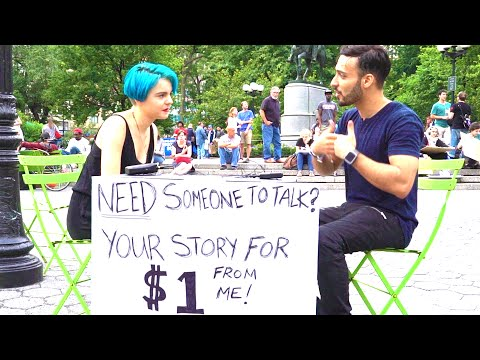 HE WANTED TO END HIS LIFE - New Yorkers Share their Story for a Dollar - Part 2