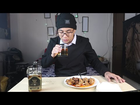 Alcohol Mukbang | Christmas Special