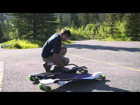 Paul Karchut's Extreme Canada - street luge