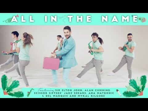 Bright Light Bright Light feat. Elton John - All In The Name (Official Video)