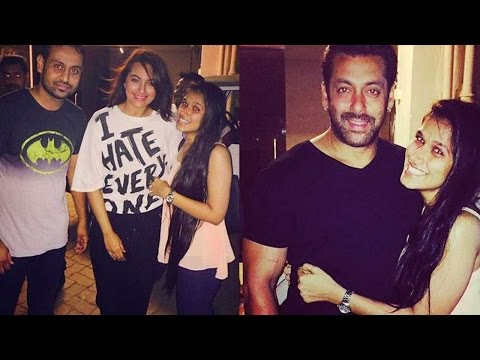 Must Watch: Salman Khan's Special Surprise For Birthday Girl Sonakshi Sinha