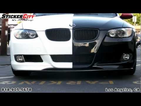 BMW 3 Series Two Faced Wrap by Sticker City