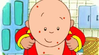 Caillou English Full Episodes | Caillou gets ill | Cartoons for Kids | Caillou Holiday Movie