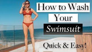 How to Wash Swimwear II Quick & Easy Swimwear Care II How to clean luxury swimwear II Swimwear tips