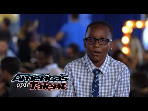 "Quintavious Johnson: 12-Year-Old Wows With ""Who's Lovin' You"" Cover - America's Got Talent 2014"
