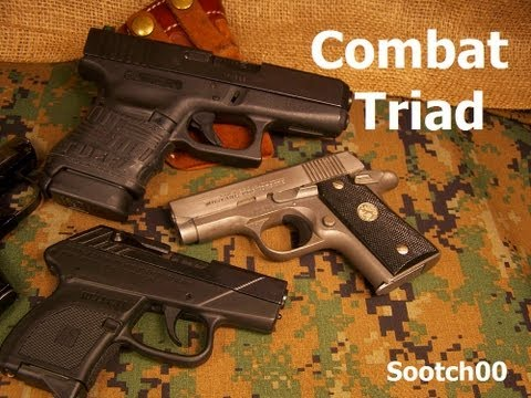 COMBAT TRIAD : Self Defense Firearm Fundamentals Image 1