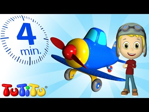 Tutitu Specials | Airplane | Toy And Song For Children video
