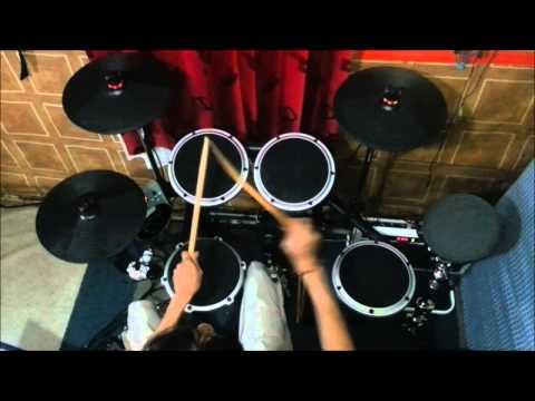 Behringer XD8USB - I'm Alive (Helloween's Drum Cover)