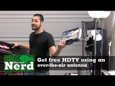 Get Free Hdtv Using An Over-the-air Antenna video