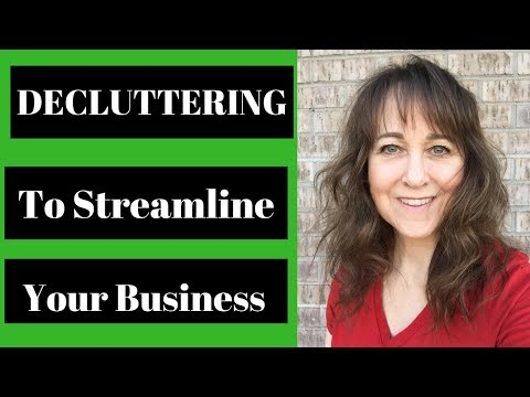 Decluttering Your Life To Make Your Business More Streamlined