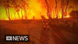 Firefighters on high alert as blazes continue across two states | ABC News