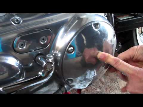 Delboy's Garage, Harley Sportster Clutch Adjustment.