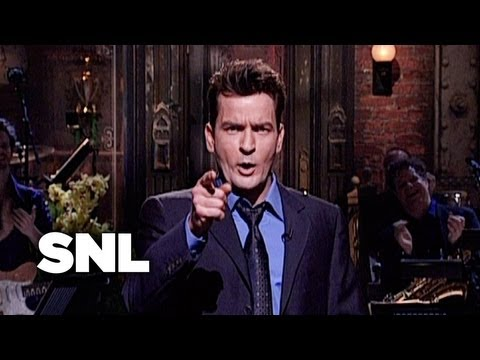 Charlie Sheen Monologue - Saturday Night Live