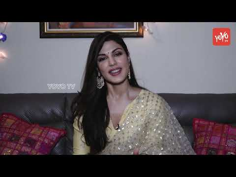 Rhea Chakraborty For Diwali Celebration | Exclusive Interview | YOYO TV Hindi