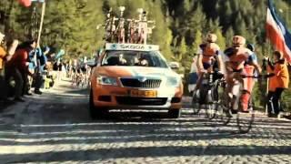 Tour de France Skoda TV advert