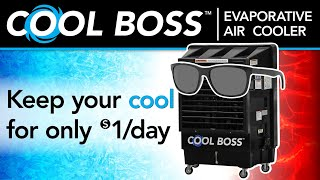 The Cool Boss Portable Evaporative Air Cooler by BendPak