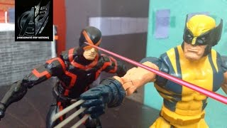 Wolverine Stop Motion - Wolverine vs Cyclops