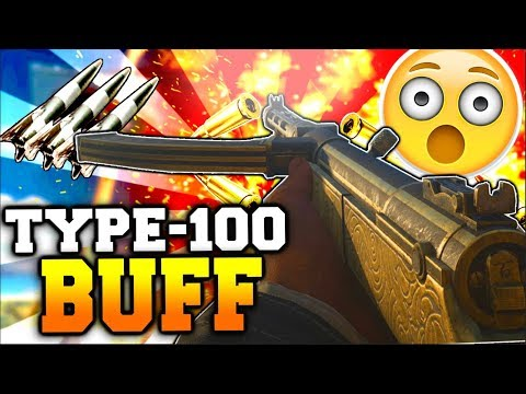 "*NEW* Type-100 Is ""Overpowered"" After Buff With Easy V2's! Type-100 Improved Best Class Setup WW2"