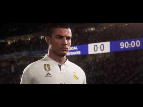 O TRAILER OFICIAL DO FIFA 18, COM CRISTIANO RONALDO NA CAPA!