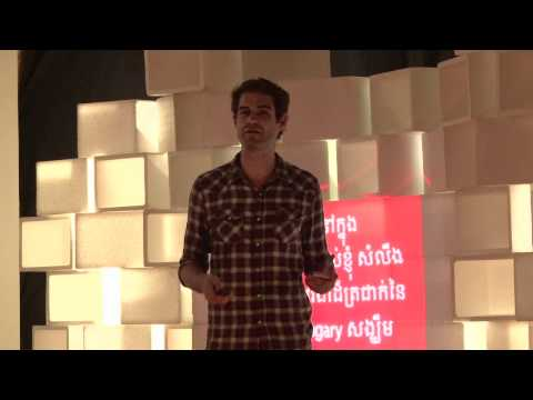 Dream big...but follow through: John Lovejoy at TEDxPhnomPenh