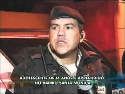 Menor é apreendido no Santa Mônica acusado de roubar moto