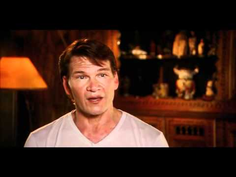 Patrick Swayze talking about