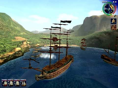 Посмотреть ролик - 2003 pirates of the caribbean pc game , игра пираты кари