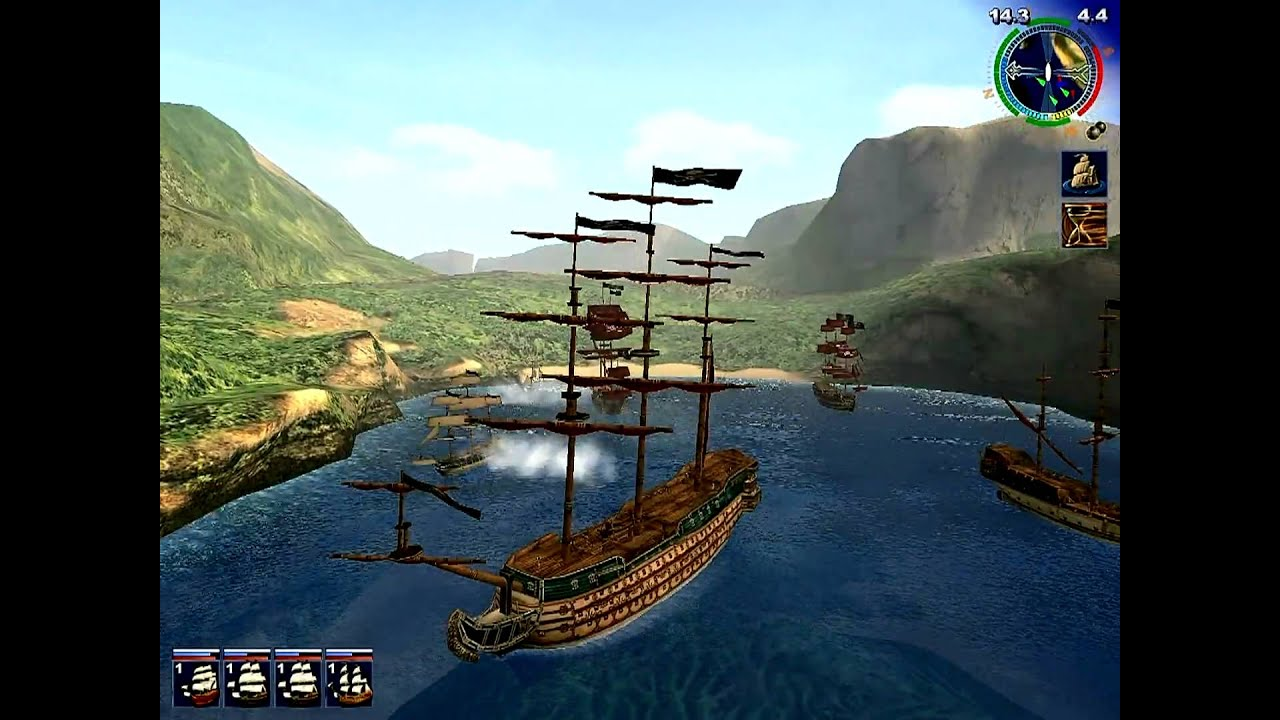 pirates of the caribbean ship game