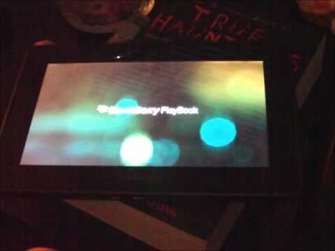 Blackberry Playbook Not Booting properly.