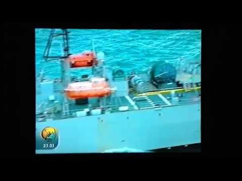 UFO-Related TV News Report: TV 2 Report On the Manoeuvres of USNS Loyal In Norway In 2002 (1/2)