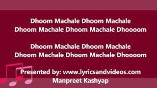 Download Dhoom Machale Dhoom Official Full Song with Lyrics from Dhoom 3 3Gp Mp4