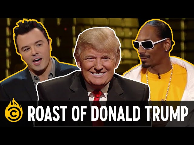 The Harshest Burns from the Roast of Donald Trump thumbnail