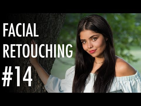 Facial Retouching tutorial w/ PortraitPro | Nikkor 105mm f/1.4 portrait lens review | #14