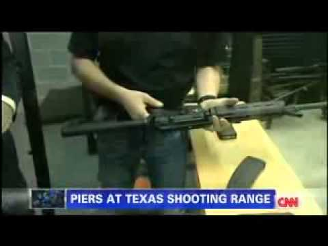 Piers Morgan Fires Assault Rifles At Texas Gun Range thumbnail