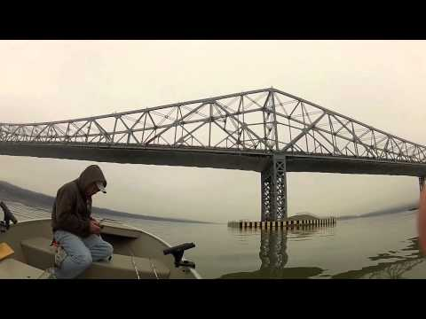 Hudson River Striper Fishing
