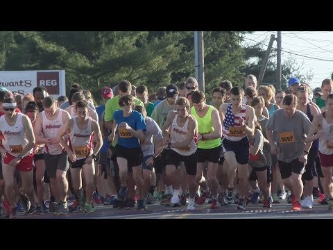 VIDEO: Walkway Marathon Series Races Kick Off with College to College 5K
