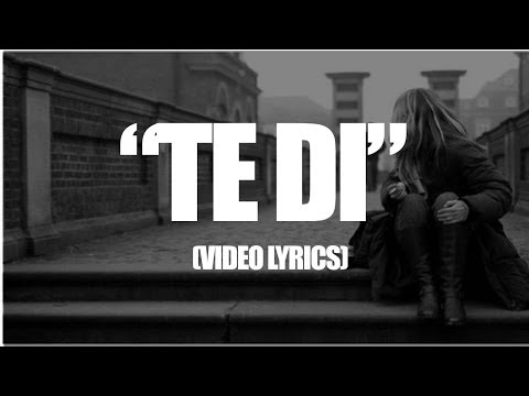 Te di - Rap Desamor / Packo Rdz Ft McAlexiz (VIDEO LYRICS)
