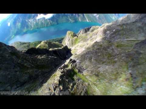 Wingsuit proximity flying - Norway 2010